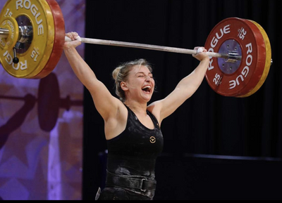 Kate Vibert: Young Team USA Weightlifter Already Breaking Records