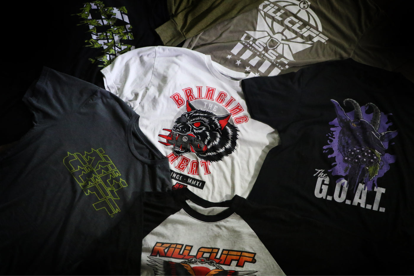 Kill Cliff Gear & Apparel Hero Image
