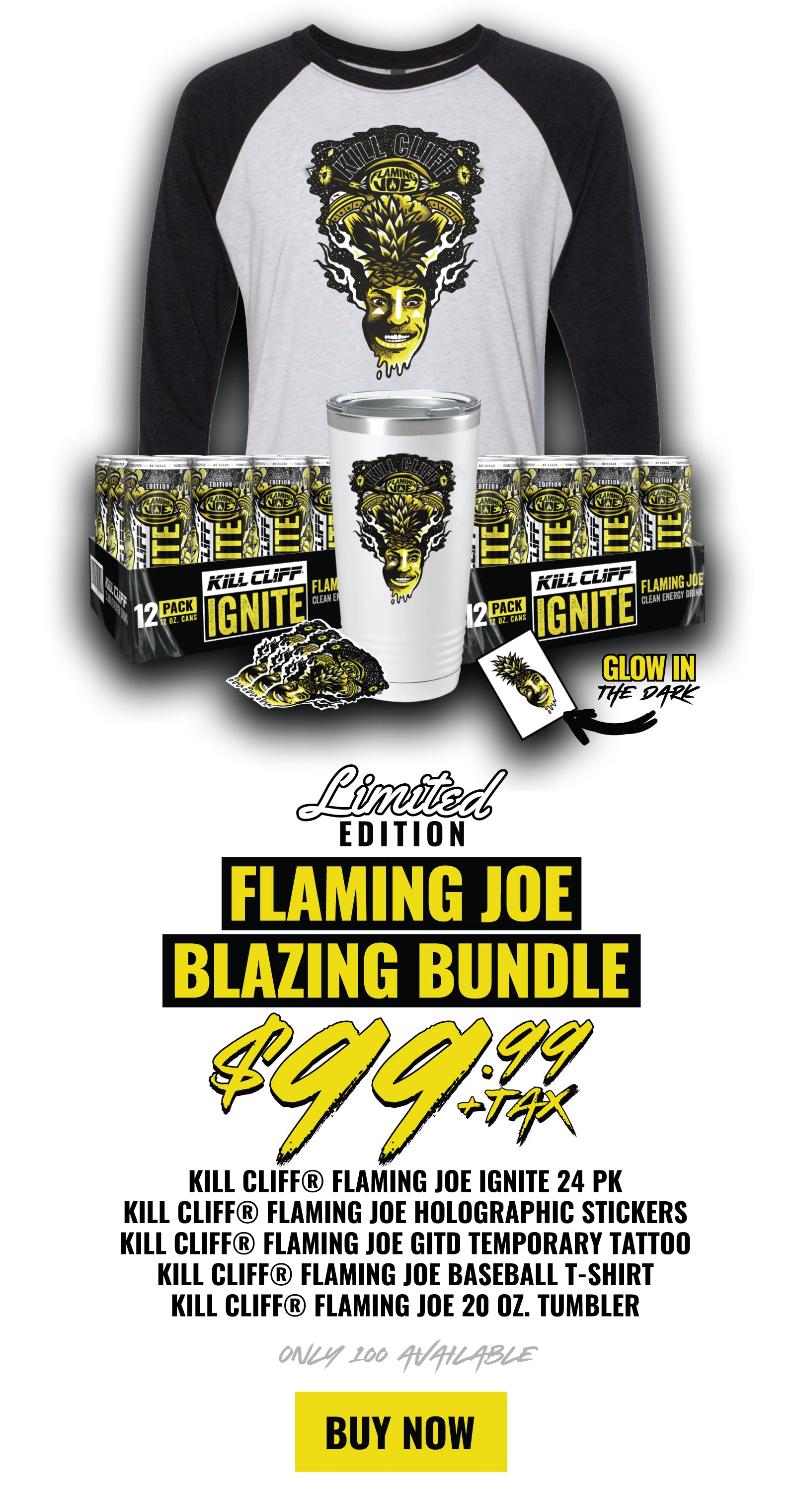 Kill Cliff Flaming Joe Bundle