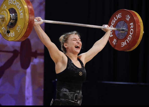 Kate Vibert: Young Team USA Weightlifter Already Breaking