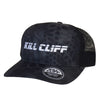 Custom Kill Cliff Kryptek hat color black typhoon and black