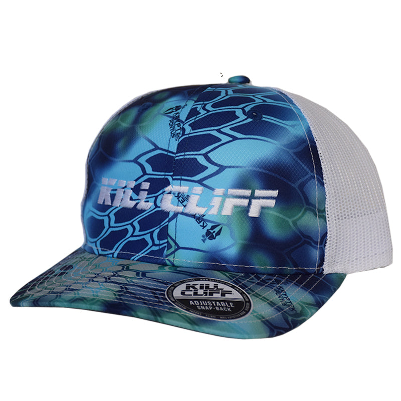 Custom Kill Cliff Kryptek hat color pontus and white