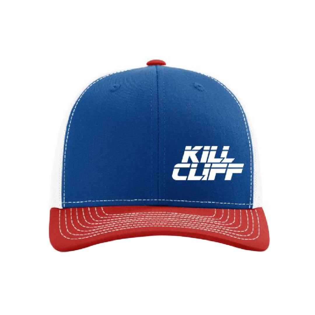 KILL CLIFF Red White and Blue Trucker Snapback