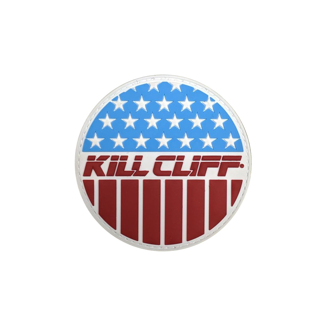 KILL CLIFF PVC Circle Flag Patch