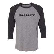 KILL CLIFF® LOGO RAGLAND 3/4 SLEEVE TEE