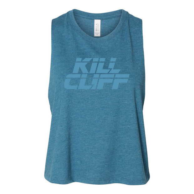 Womens Racerback Cropped Tank