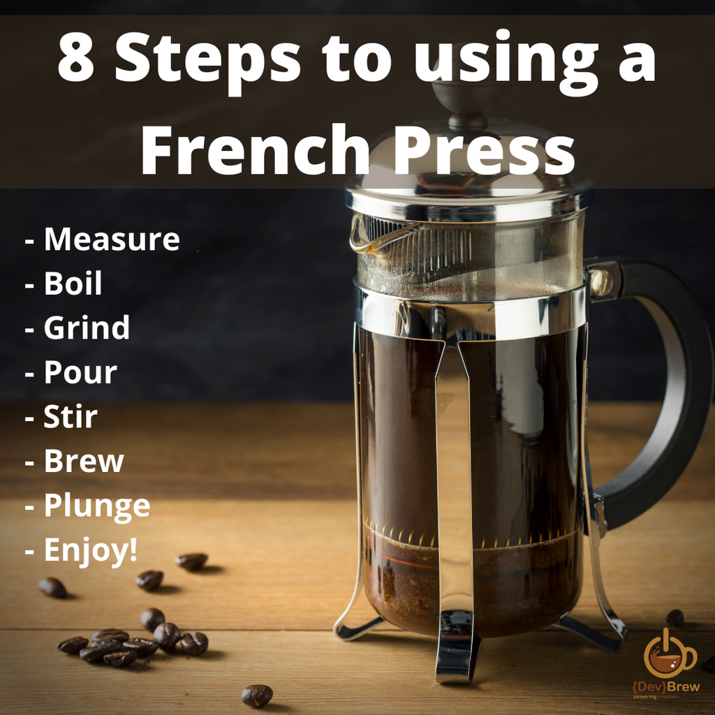 8 Steps to using a French Press