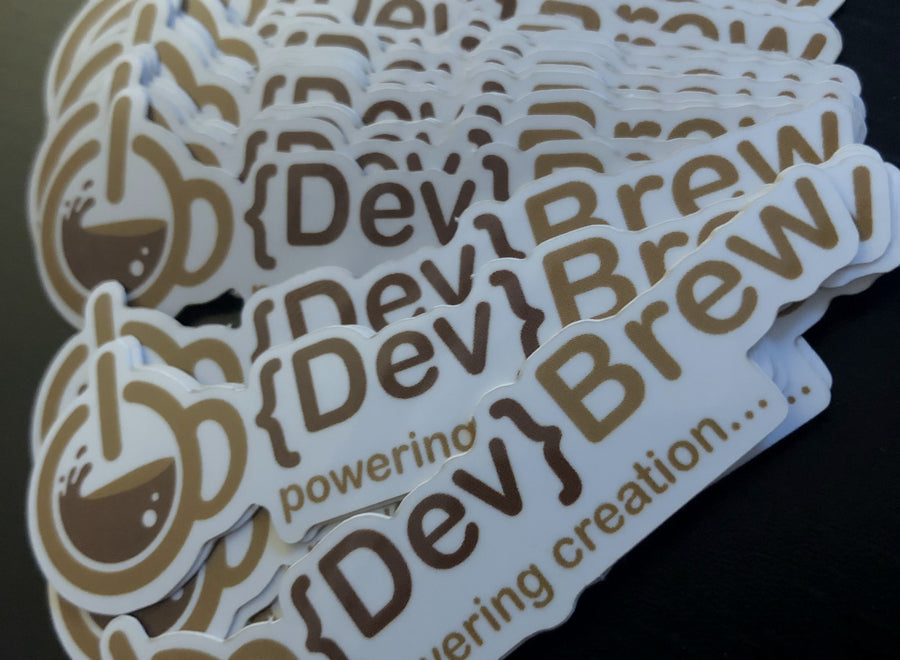 {Dev}Brew Stickers