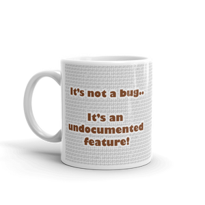 Open image in slideshow, DevBrew Coffee Mug | It's Never a Bug