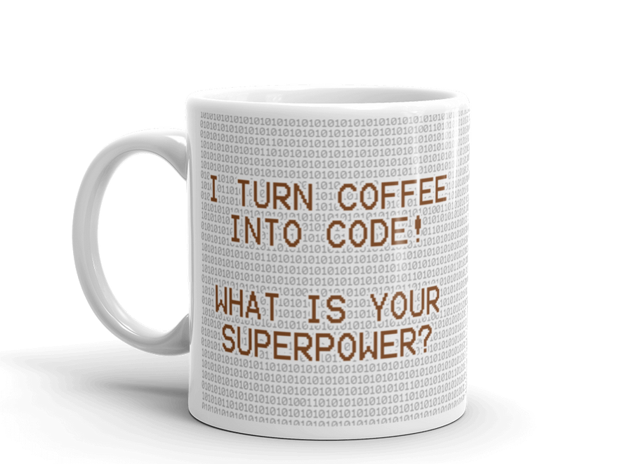 DevBrew Coffee Mug | Superpower