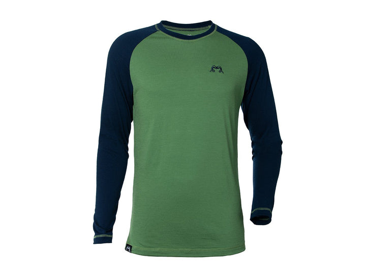 Mens Merino Long Sleeve Base Layer - True Fleece