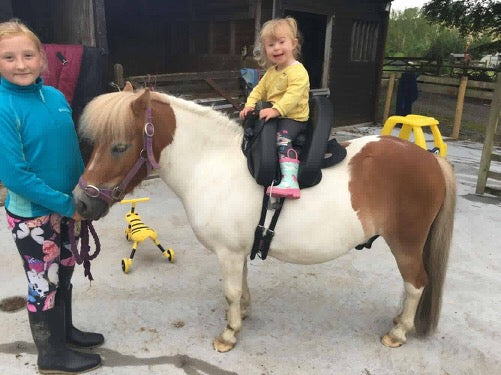 The Inky Dinky Saddle; Helping Disabled Children through Horse Riding