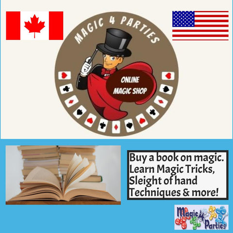 Books on Magic! Learn Magic Tricks today!  Magic Magazines too!
