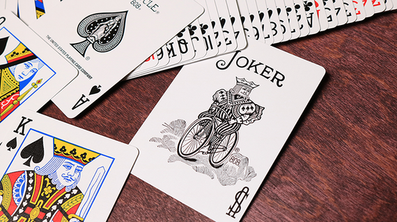 Colored Bicycle Rider Back Playing Cards by US Playing Card Co