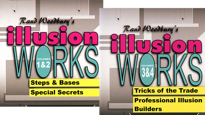 Illusion Works Set (Vol 1 thru 4)  by Rand Woodbury video DOWNLOAD