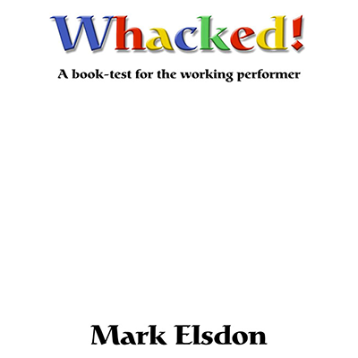 Whacked Book Test by Mark Elsdon  DOWNLOAD- eBook