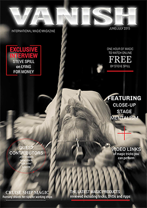 VANISH Magazine June/July 2015 - Steve Spill  DOWNLOAD -eBook