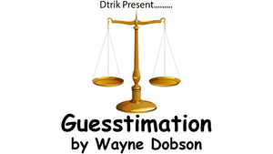 Guesstimation by Wayne Dobson video DOWNLOAD