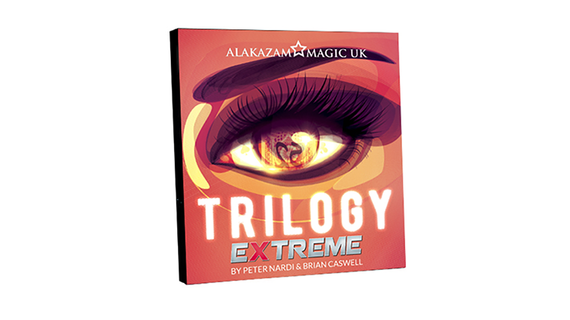 Trilogy Extreme (Gimmick and DVD) by Brian Caswell and Alakazam Magic - DVD