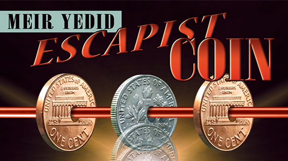Escapist Coin (DVD and Gimmicks) by Meir Yedid - DVD