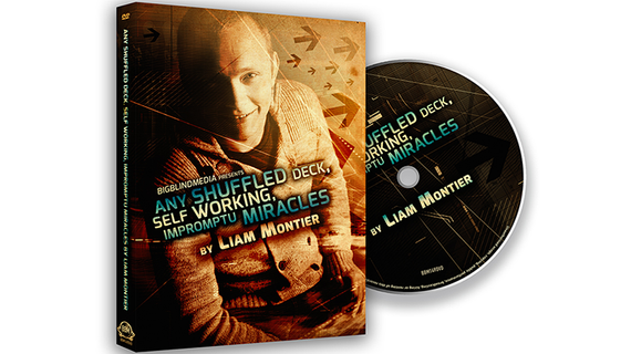 Any Shuffled Deck - Self-Working Impromptu Miracles by Big Blind Media - DVD