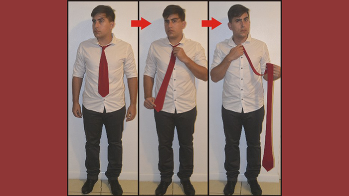 Comedy Necktie (Red) by Nahuel Olivera - Trick