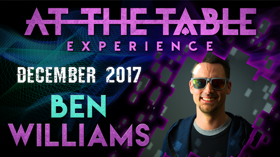 At The Table Live Lecture Ben Williams December 6th 2017 video DOWNLOAD