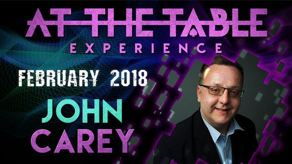 At The Table Live Lecture John Carey February 21st 2018 video DOWNLOAD