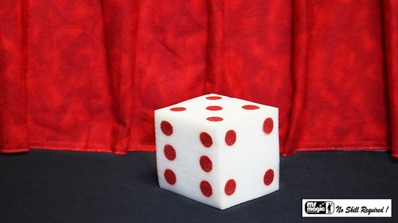 Ball to Dice (Red/White) by Mr. Magic - Trick