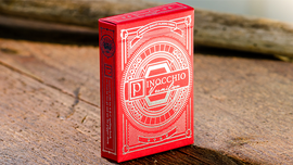 Pinocchio Vermilion Playing Cards (Red ) by PassioneTeam