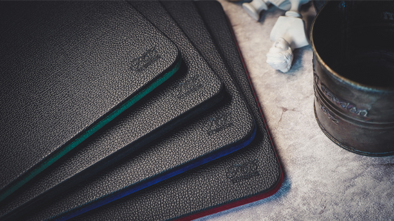 Suede Leather Mini Pad (Available in:  Red,Blue,Green, and Black-Each sold seperately)