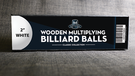 "Wooden Billiard Balls (1.75"" Red) by Classic Collections - Trick"
