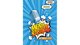 Vortex Magic Presents Mental Karaoke (Gimmicks and Online Instructions.) by Harvey Raft