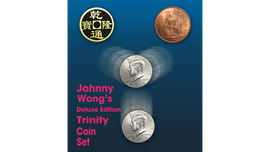 Deluxe Edition Trinity Coin Set (DVD) by Johnny Wong