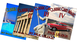THE TOTAL PACKAGE by Paul A. Lelekis The Classics of Card Magic Volumes I, II, III, IV eBook DOWNLOAD