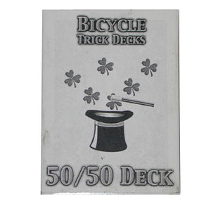 50/50 Decks Bicycle (Blue)