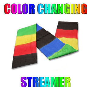 Color Changing Streamer by Vincenzo Di Fatta - Tricks
