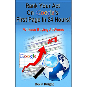 How To Rank Your Act on Google by Devin Knight - ebook - DOWNLOAD