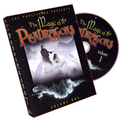 Magic of the Pendragons #1 by Charlotte and Jonathan Pendragon and L&L Publishing - DVD