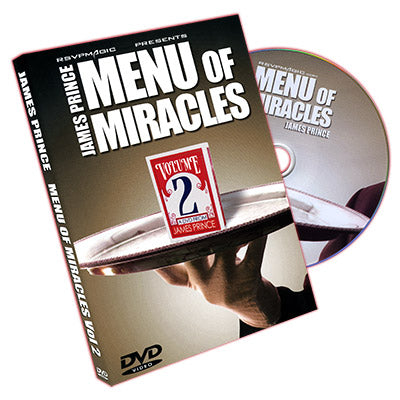 Menu of Miracles Vol. 2 by James Prince & RSVP - DVD