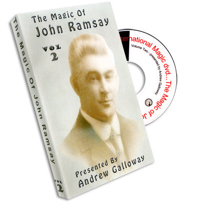 Magic of John Ramsay DVD #2 by Andrew Galloway