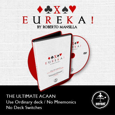 EUREKA The Ultimate ACAAN by Roberto Mansilla & Vernet - DVD