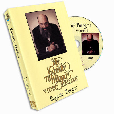 Eugene Burger Greater Magic- #4, DVD