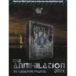 Annihilation Deck by Cameron Francis & Big Blind Media -  DOWNLOAD