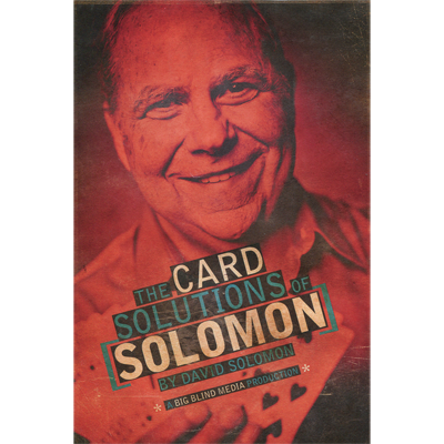 The Card Solutions of Solomon (3 Volume Set) by David Solomon & Big Blind Media