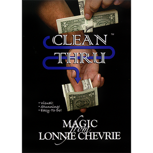 Clean Thru - Clear Thru by Lonnie Chevrie and Kozmo Magic video DOWNLOAD