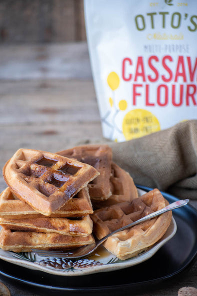 Easy Gluten-Free Waffles Recipe (With Cassava Flour)