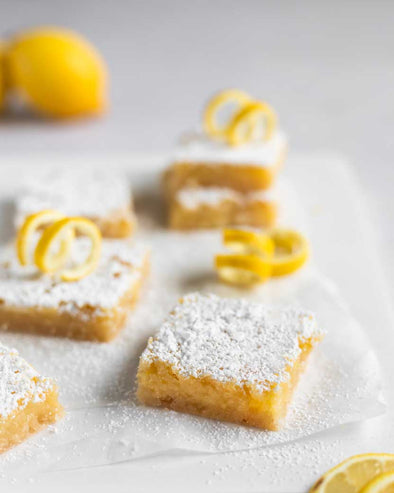 Gluten-Free Lemon Bars (Grain-Free)