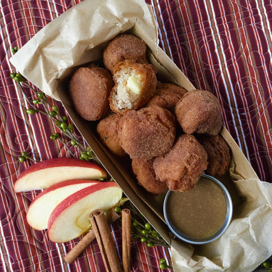 Mini Cinnamon Apple Fritters (GF)