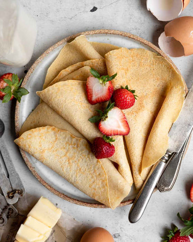Gluten-Free French Crepes
